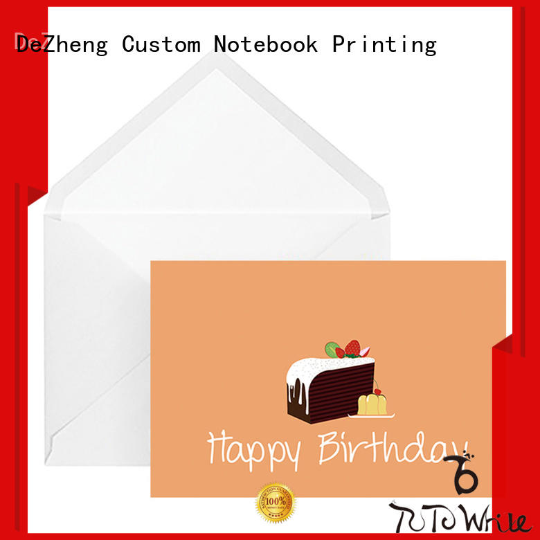 high-quality children's birthday cards printing bulk production For gift card
