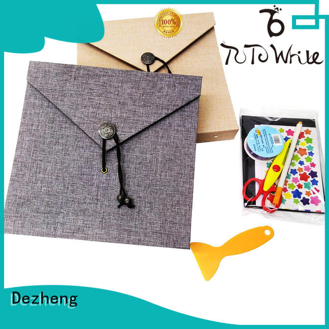 Dezheng at discount self-adhesive photo album supplier for gift