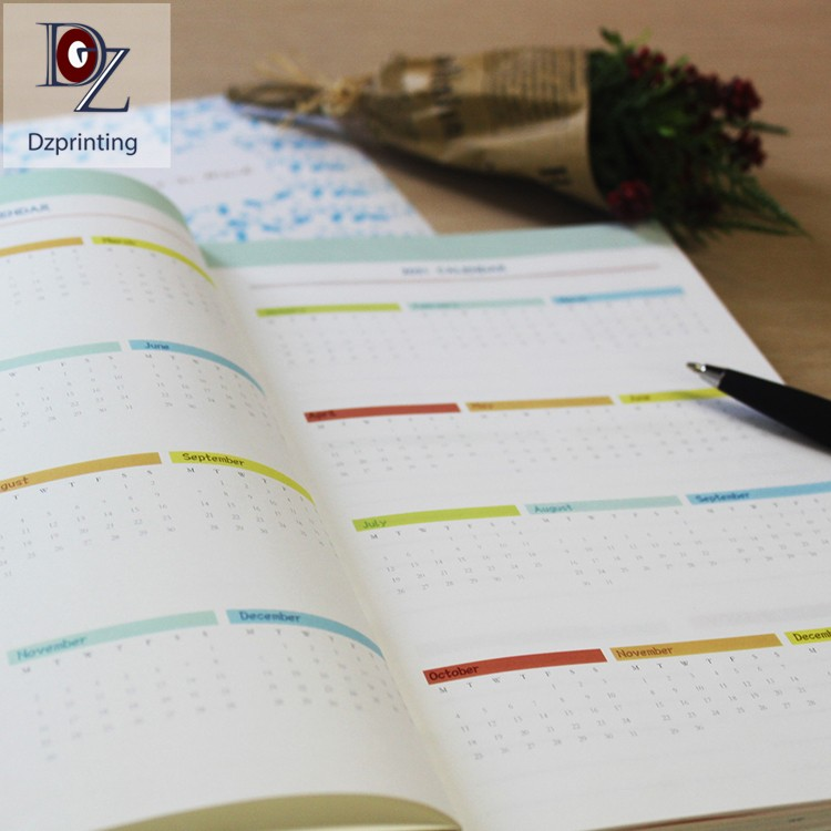 news-2021 Planner Hardcover Journal With Colorful Pages-Dezheng-img