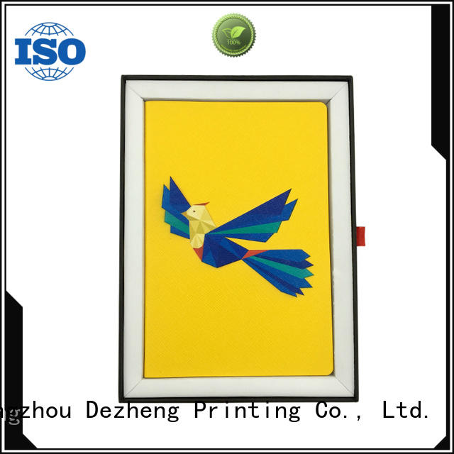 Dezheng premium pu leather journal Supply For school