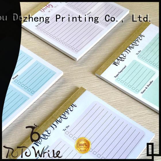 Dezheng Custom Journal Wholesale Suppliers for business