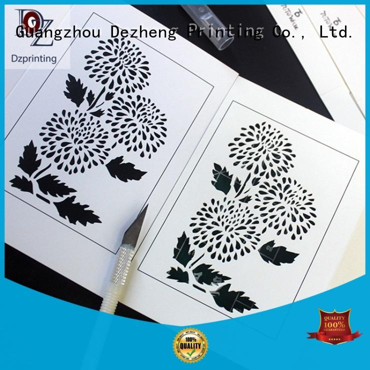 Dezheng Best universal greeting card factory
