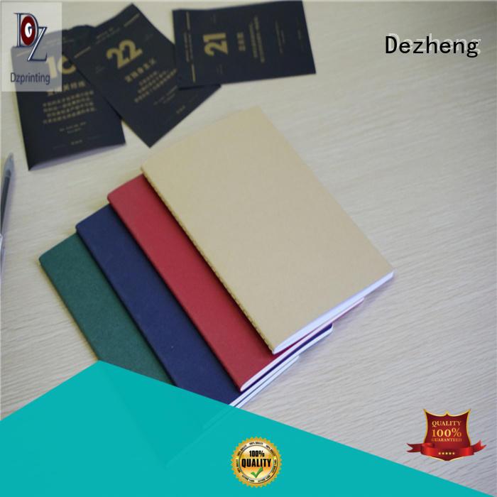 Dezheng dot custom journal notebook customization For student