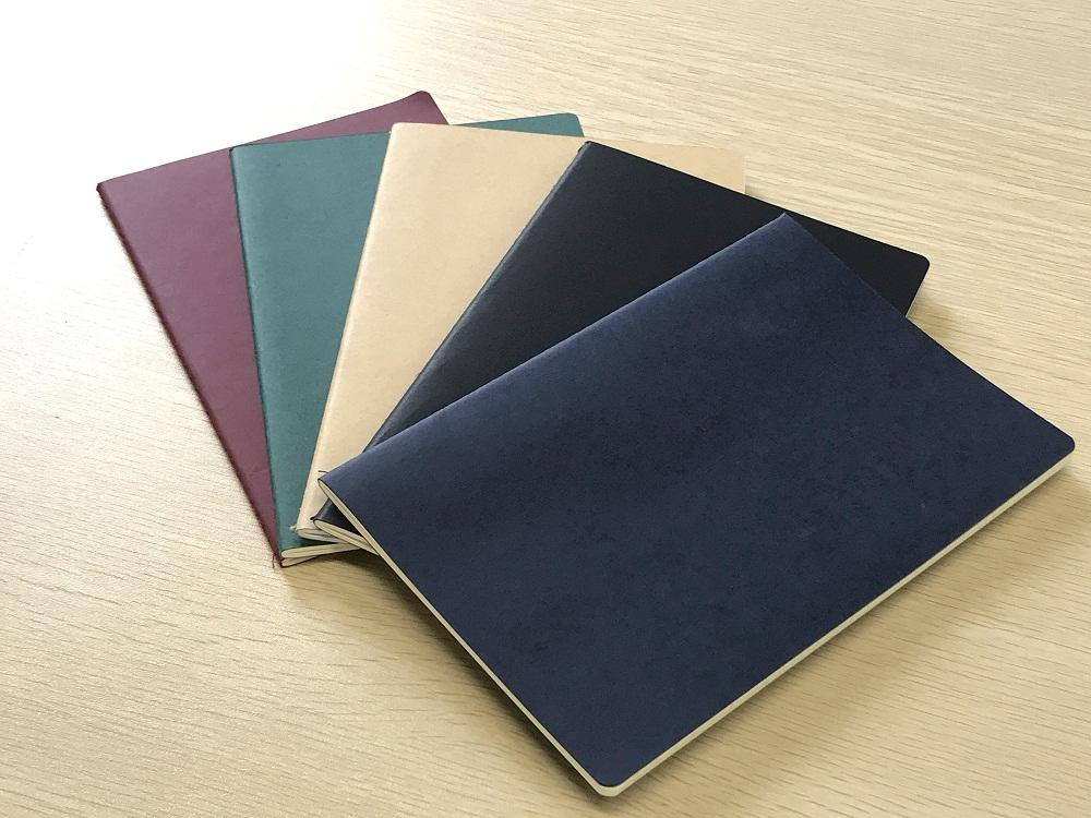 5 Pack Sewing Binding A5 School Blank Pages Notebook With Paper Band