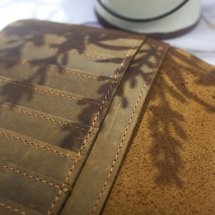 Dezheng New leather journal cover For meeting-1