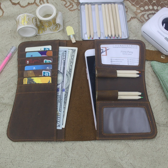 Dezheng New leather journal cover For meeting-2