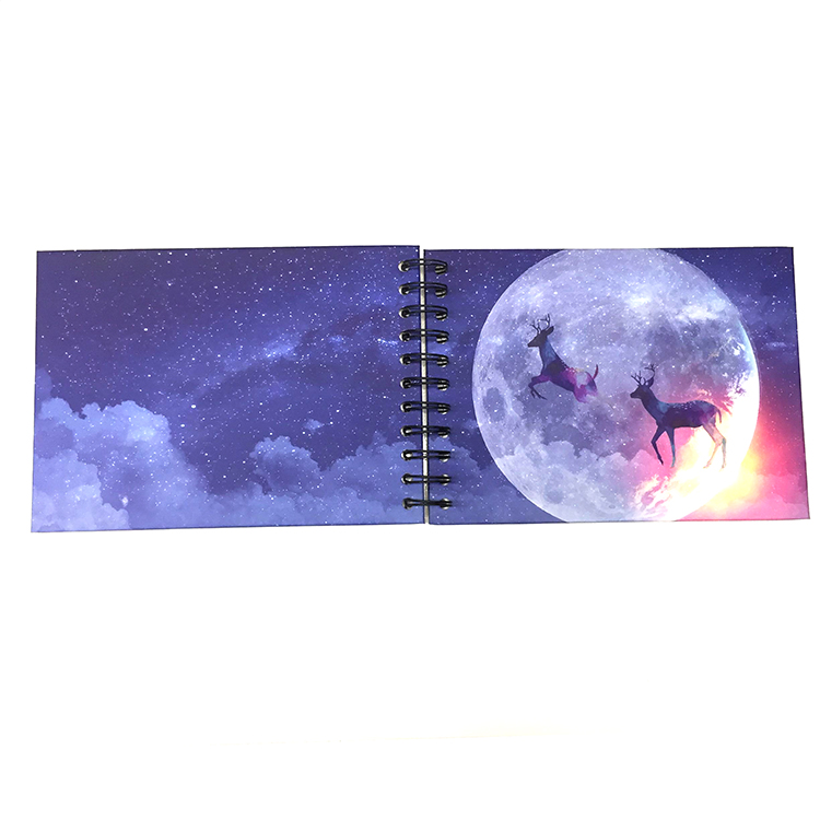 Dezheng New photo album with self stick pages for gift-1