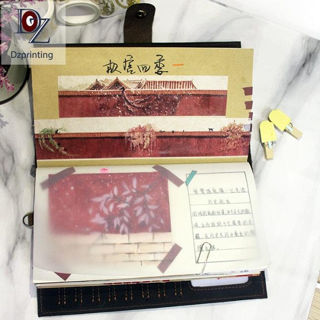 Dezheng leather bound journal for business For meeting