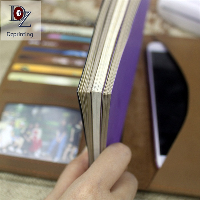 application-latest leather journal for business For meeting-Dezheng-img