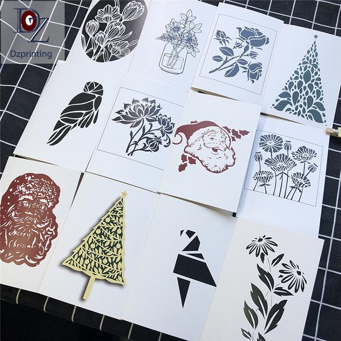 4x6 DIY Laser Cut Sculpture Hollow Out Cards Wedding Invitation Cards