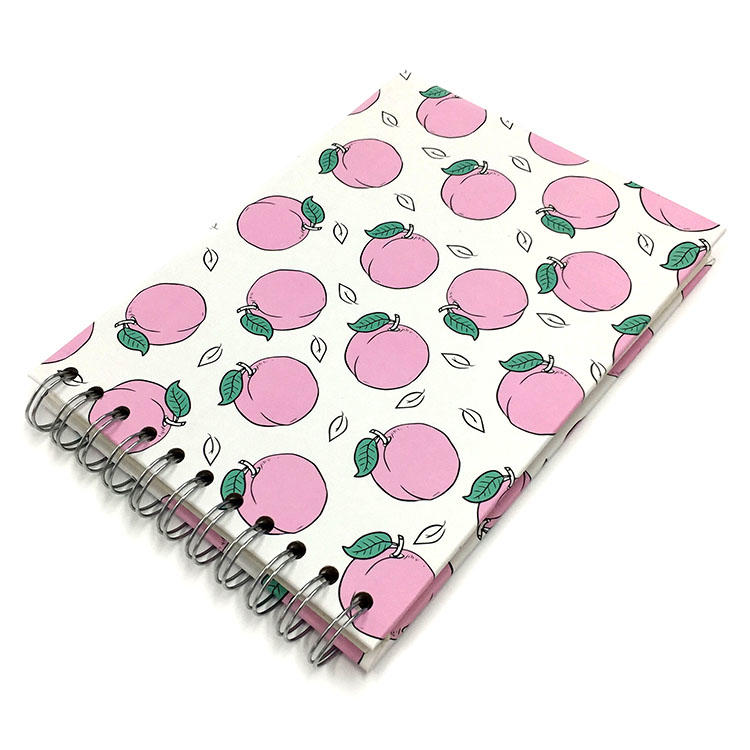 New design Fruit Self Adhesive Pages Spiral Scrapbook Photo Album