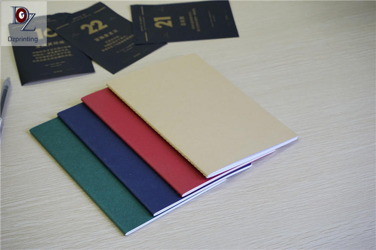 funky personalized journal notebook binding customization For student