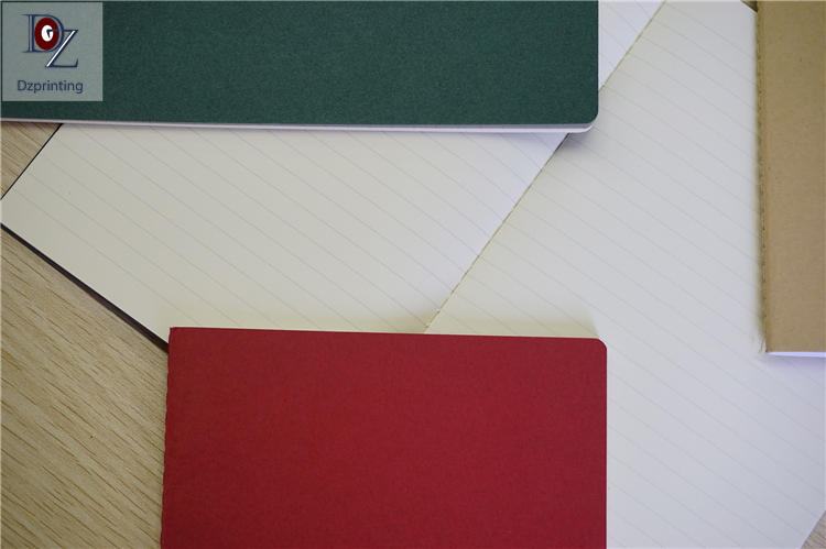 Cheap school stationery a5 sewn binding stitch custom sewn notebook