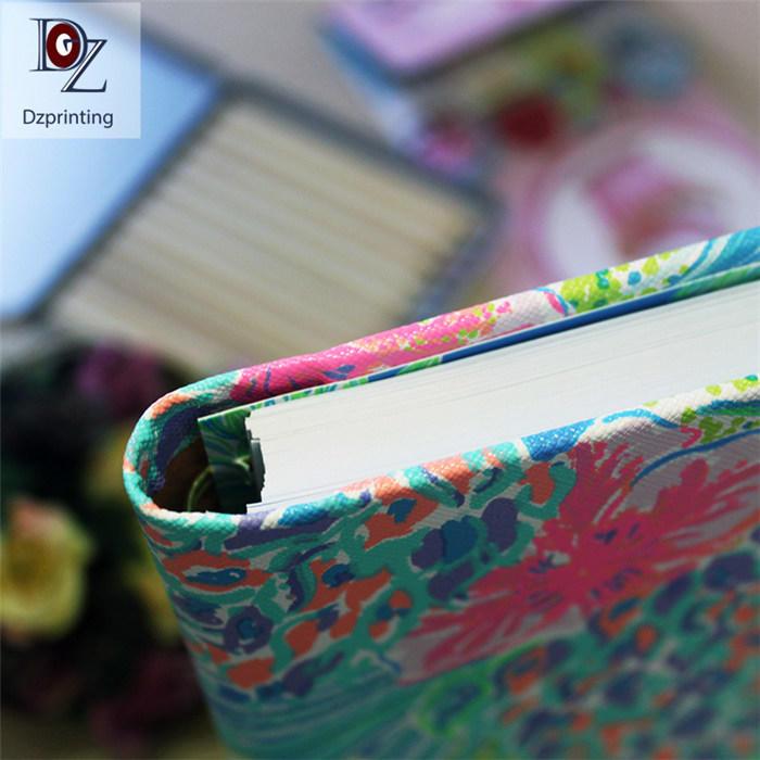 product-2021 hidden gold spiral notebook hardcover custom printing daily agenda planner planner-Dezh-4