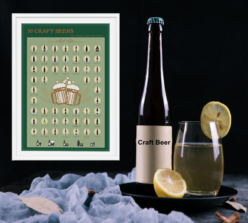 video-Video of 50 must drink red wine, beer, cocktail poster-Dezheng-img