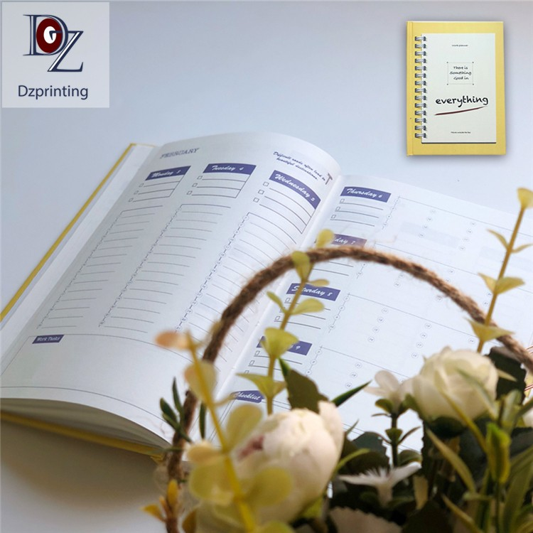news-2021 Planner Hardcover Journal With Colorful Pages-Dezheng-img-1