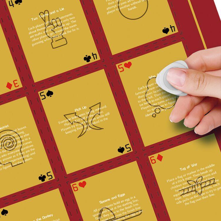 Dezheng scratch poster customization-2
