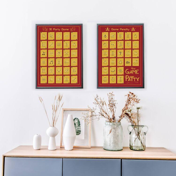 Dezheng scratch poster customization-1