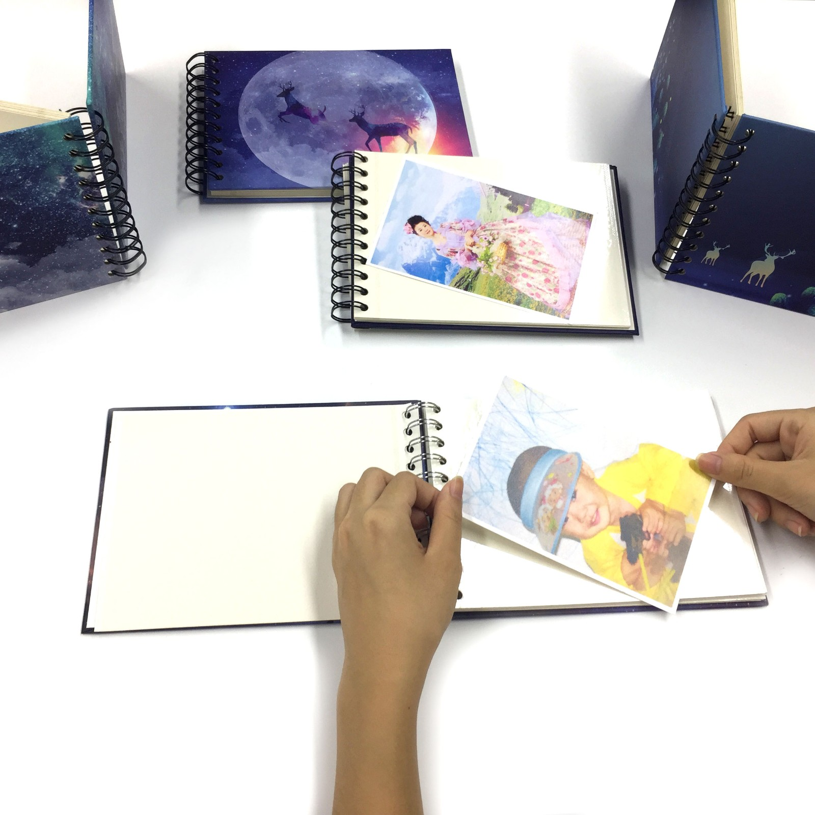 news-Dezheng-Mini DIY Photo Album Self Adhesive Scrapbook-img