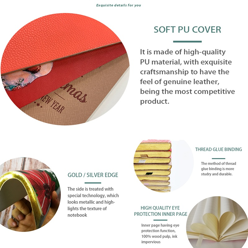 Dezheng ribbon mini journals bulk For school-2