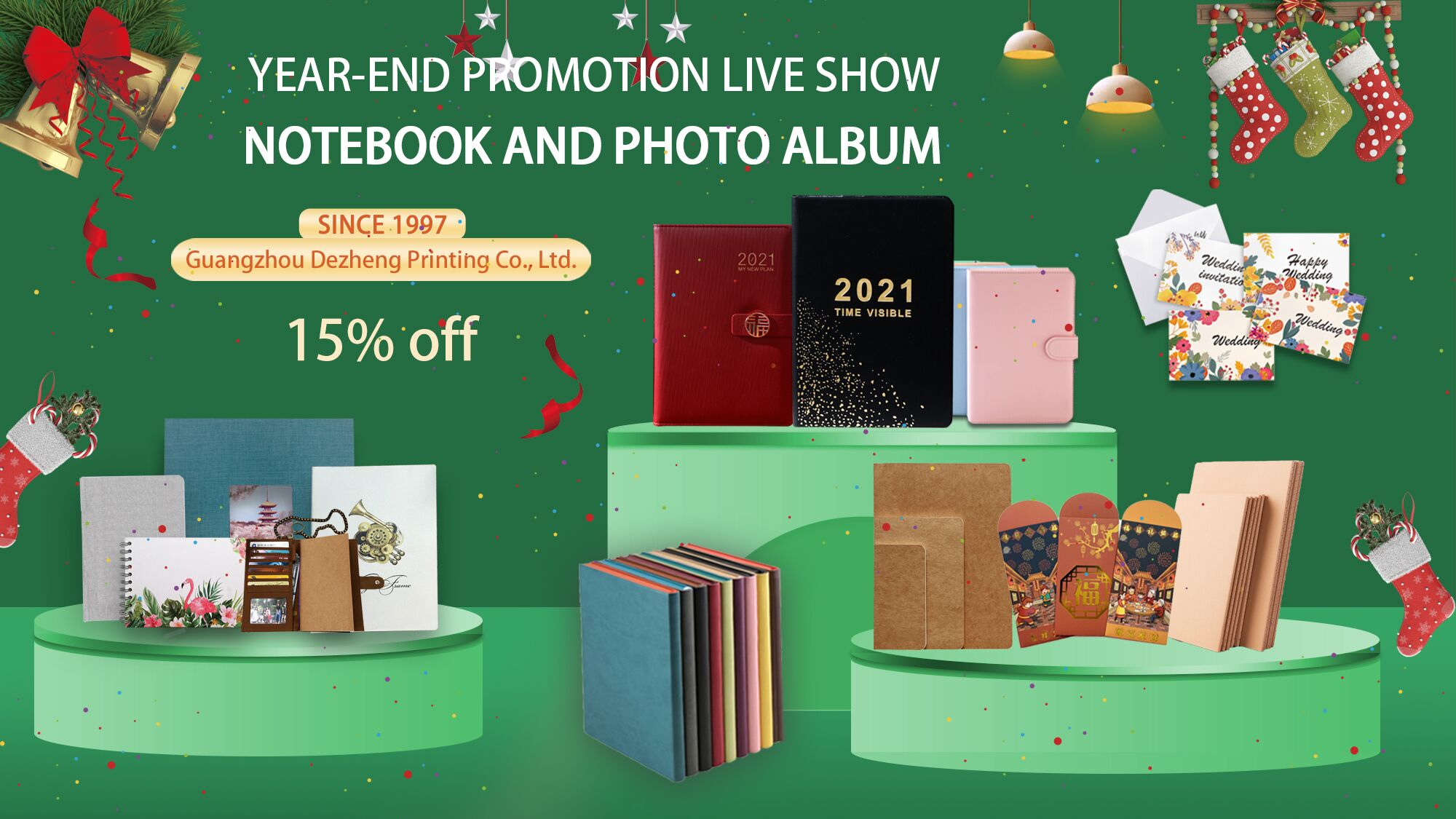 news-Year-end promotion live show for notebooks and photo album-Dezheng-img