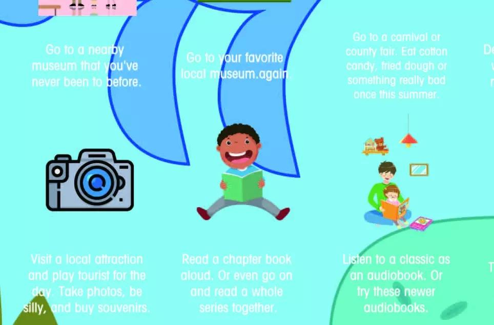 Children Gift 100 Interesting Items Bucket List Scratch Off Poster