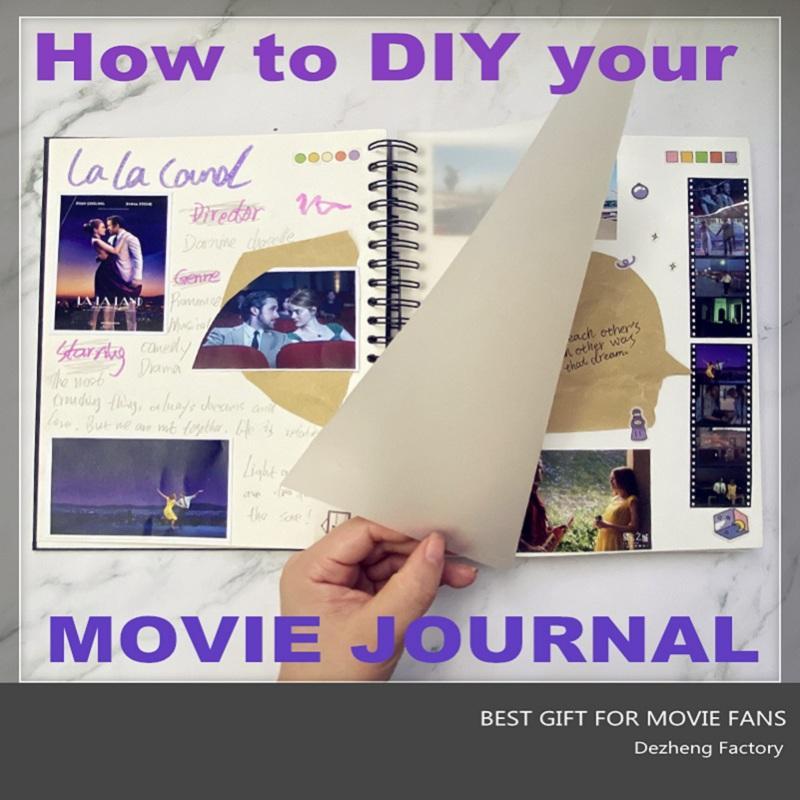 How to make an amazing movie journa movie photo albuml?