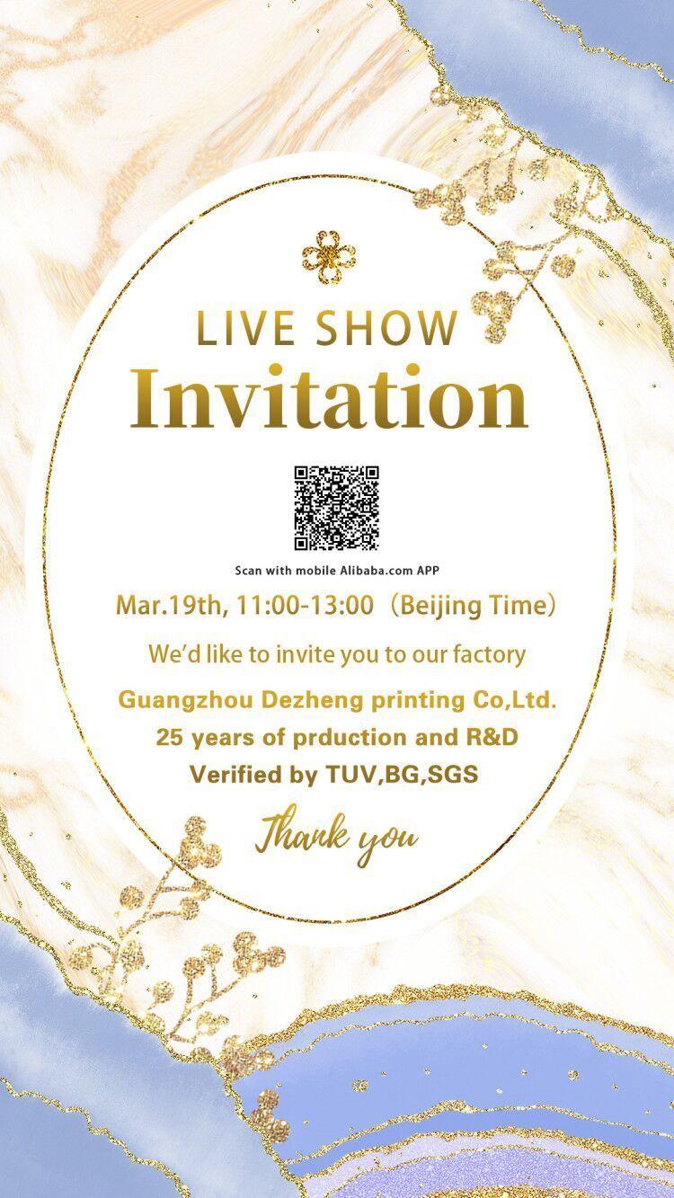 news-20 off LIVE promotion show invitation-Dezheng-img