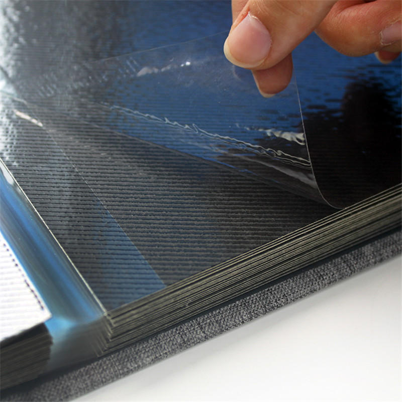 12 x 12 Cloth Self-adhesive Photo Album Hardcover Scrapbook