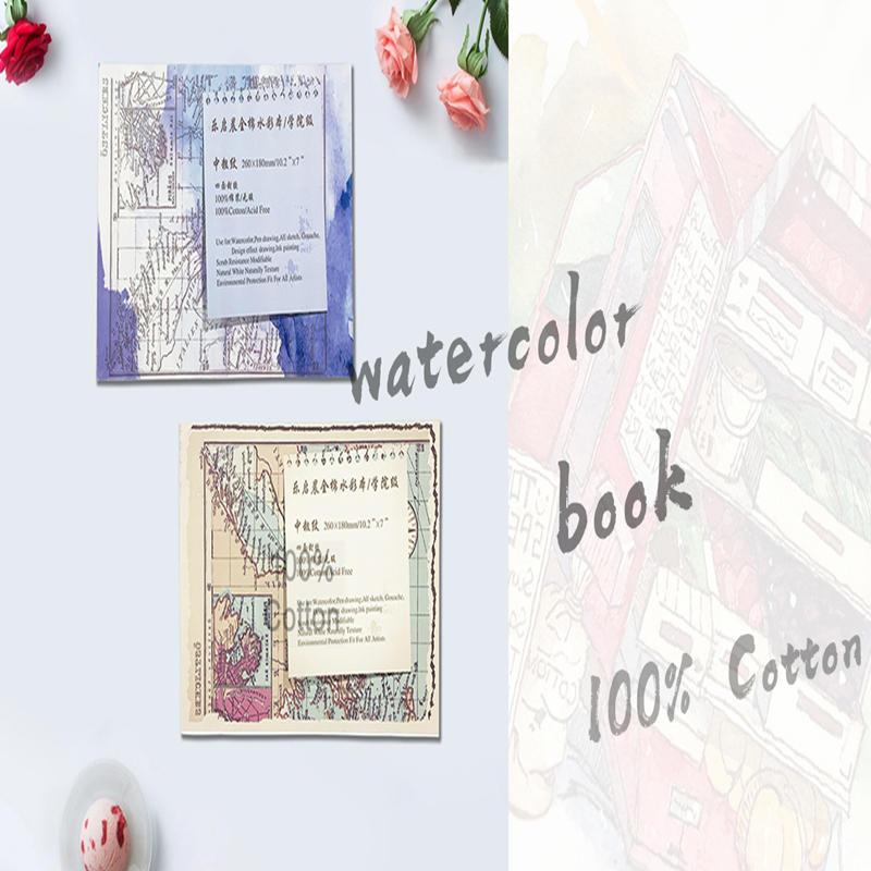 Dezheng | 100% Cotton Acid-free Paper Watercolor Block | DIY Painting Sketchbook For Drawing