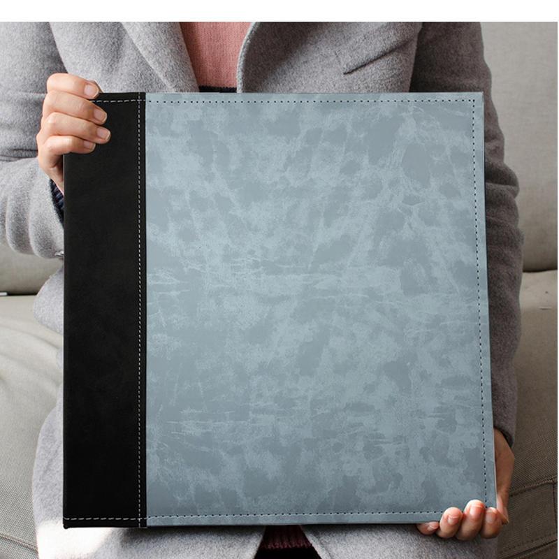 Big Photo Album 12 inches High-end Pu Leather Scrapbook DIY Photo Album