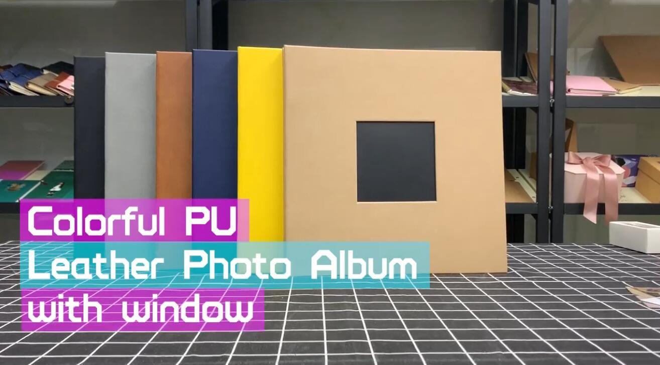 product-Hardcover DIY Custom Photo Album Book With 80 Slef Adhesive Pages-Dezheng-img-2
