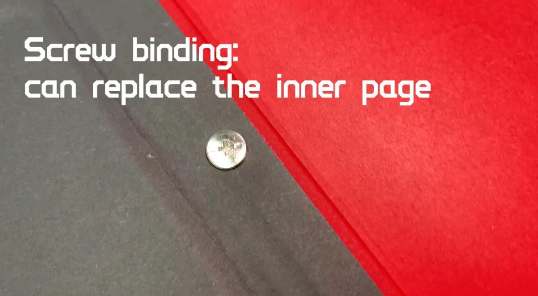 product-Dezheng-DIY Photo Album Large Scrapbook Self Adhesive Sticker Book-img-1