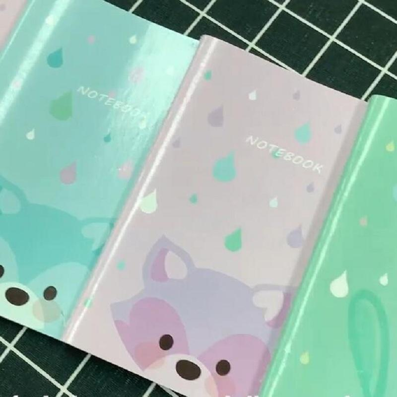 Cute Cartoons Notebooks A5 Size Paper Cover Journal