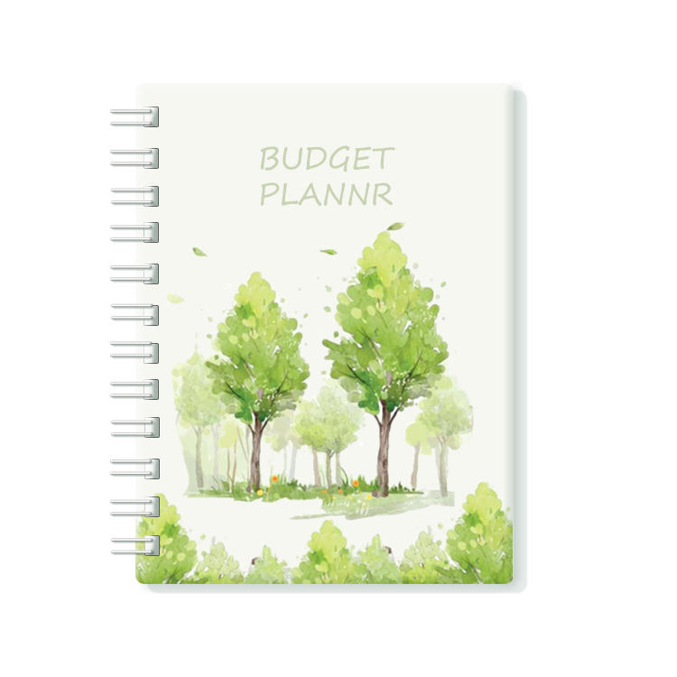 2022 Monthly Budget Planner Tree Design Budgeting Journal Finance Planner & Accounts Book to Take Control Hardcover Expense Tracker Notebook Budget Planner