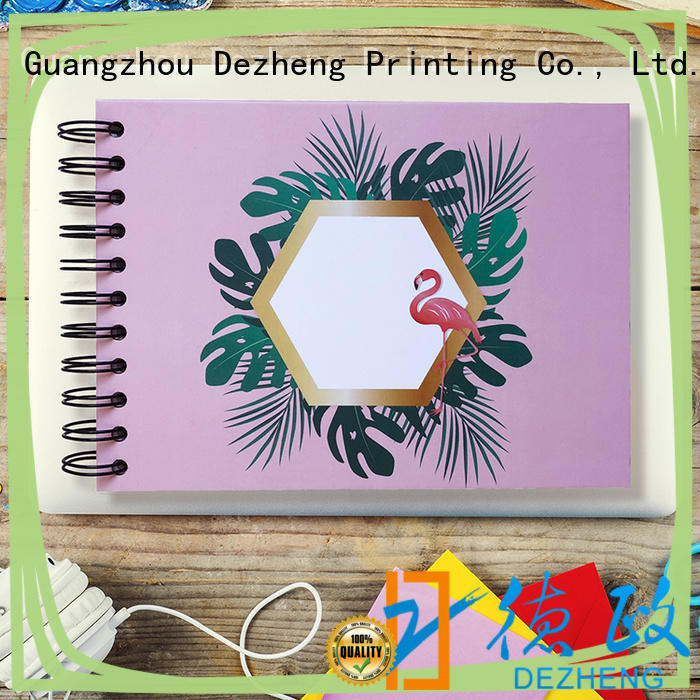 Dezheng beautiful scrapbook photo album free sample for friendship