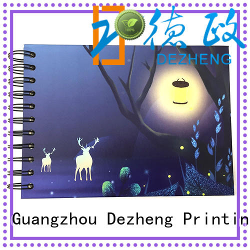 Dezheng linen picture scrapbook for friendship
