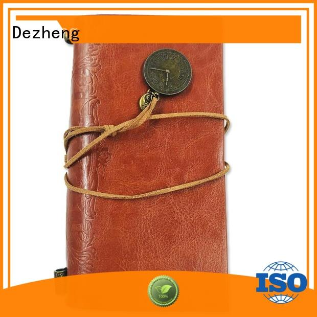 Dezheng leather journal cover bulk production For meeting