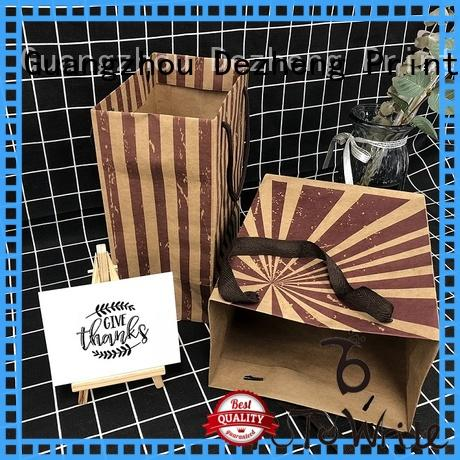 Dezheng promotion custom paper bags Supply for friendship