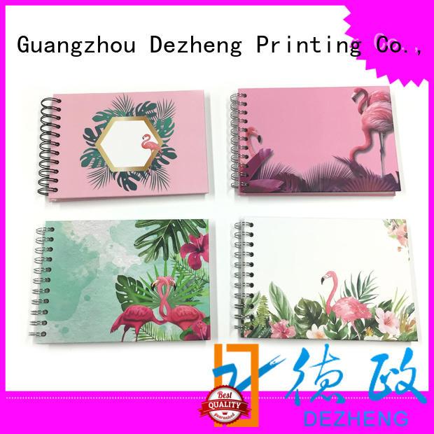 Dezheng durable photo album scrapbook ODM for festival