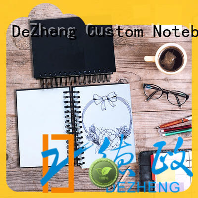 Dezheng Customized custom made sketchbook customization For notebook printing