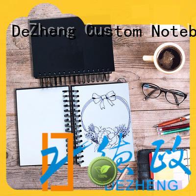 Dezheng Customized custom made sketchbook customization For notebook printing