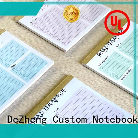 Dezheng logo OEM for notetaking