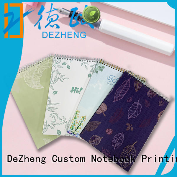 Dezheng design notebooks factory company for journal