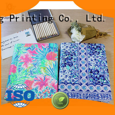 Dezheng simple custom spiral notebooks company For school