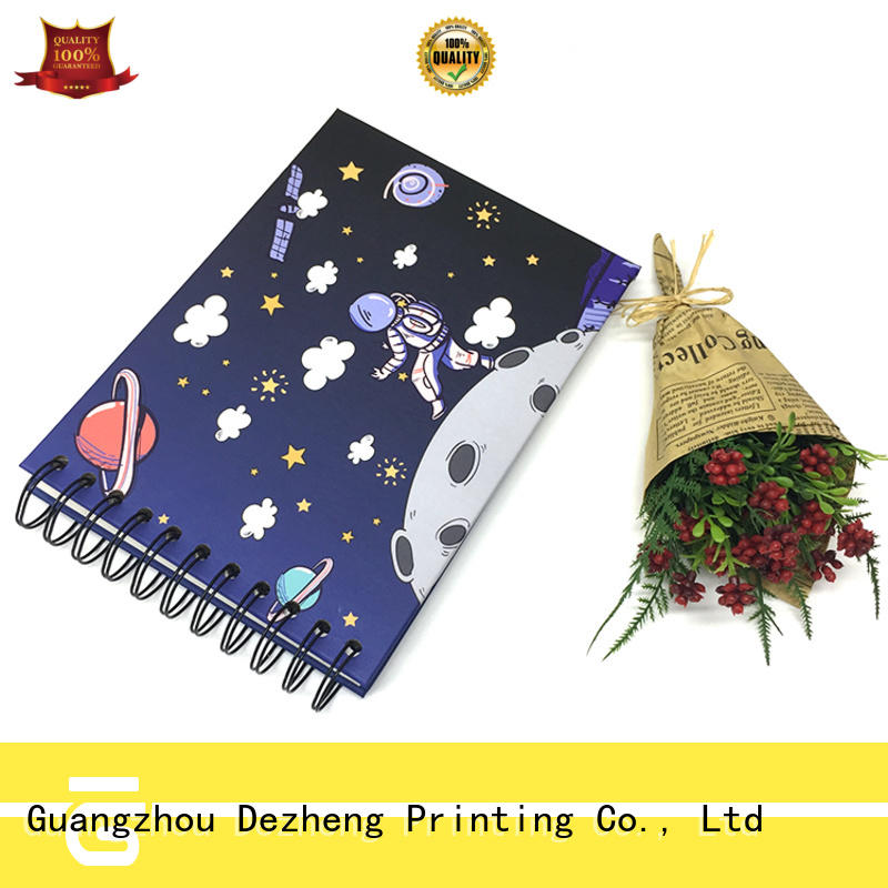 Dezheng credit personalised notebooks get quote for personal design
