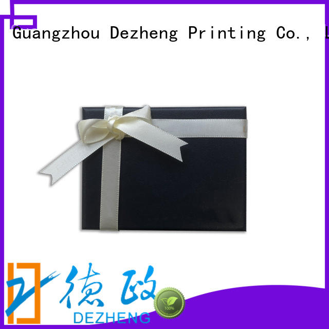 Dezheng box custom jewelry boxes Suppliers