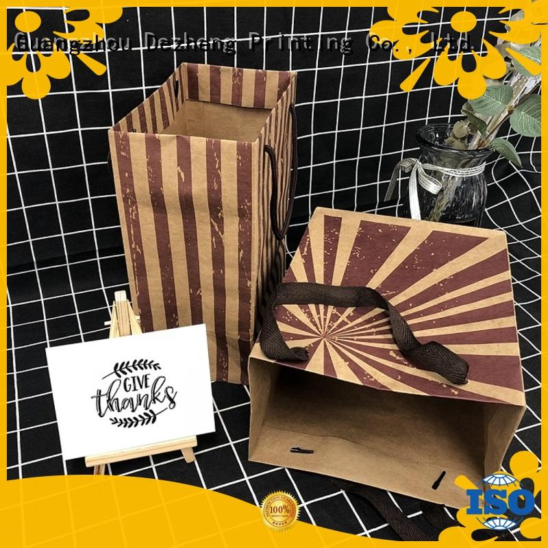 Dezheng Best paper tote bags manufacturers for festival