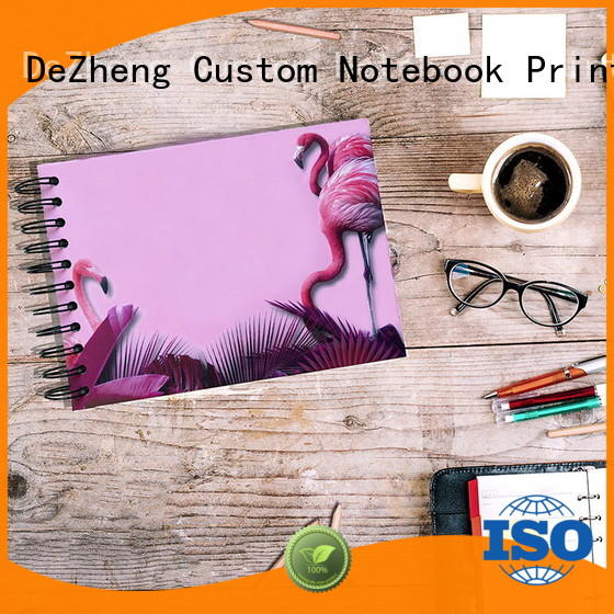 Dezheng looseleaf photo album with self stick pages factory for gift