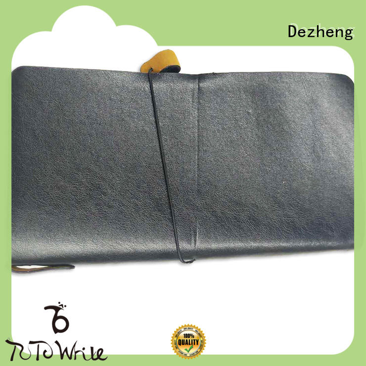 Dezheng best leather notebook cover Suppliers For business